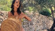 Alessandra Ambrosio çırılçıplak zeytin topladı