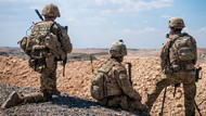 ABD askerleri Suriye'de TSK'yı böyle gözetliyor