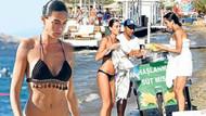 Hande Subaşı tatil için Bodrum'u tercih etti