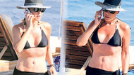43 yaşındaki Gülben Ergen bikinili görüntülendi
