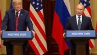 Vladimir Putin ve Donald Trump'tan ortak basın toplantısı