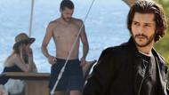 Çukur'un yakışıklı komiseri Alperen Duymaz sevgilisiyle tatilde