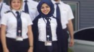 THY'nin ilk başörtülü pilot adayı Fatma Durmuş eğitime başladı