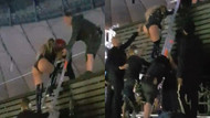 Beyonce'ye sahnede kurtarma operasyonu