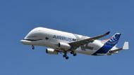 Airbus'ın balina görünümlü uçağı ilk kez göklerde