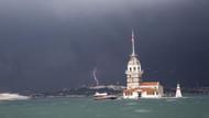 Son dakika: İstanbul'da şiddetli yağmur ve dolu yağışı