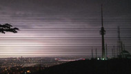 Şimşekler İstanbul'da geceyi gündüze çevirdi