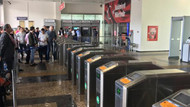 İstanbul'da aşırı yağış nedeniyle metro seferleri durdu