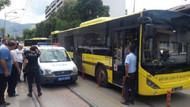 Belediye otobüsündeki tacizciye gözaltı