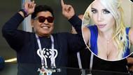 Diego Maradona, Mauro Icardi'nin eşi Wanda Nara ile otelde basıldı!