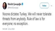Son dakika: Çavuşoğlu'ndan Trump'a sert yanıt: Kimse Türkiye'ye emir veremez