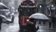 Meteoroloji saat verdi! İstanbul için yağmur uyarısı