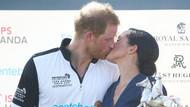 Meghan Markle'dan Prens Henry'e ateşli öpücük