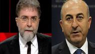 Ahmet Hakan'dan Çavuşoğlu'na: Adamlar resmen tehdit ediyorlar!
