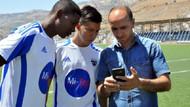 Diyarbakır'a gelen Kolombiyalı futbolcular çeviri programıyla anlaşıyor