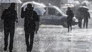 İstanbul'un Anadolu yakası için sağanak yağış uyarısı
