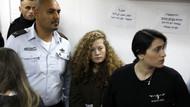 Filistin direnişinin sembolü Ahed Tamimi serbest bırakıldı