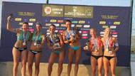 Plaj Voleybol Dünya turu Samsun etabı sona erdi