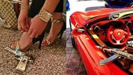 Instagram'da görgüsüzlük savaşı! Altın silahlar, çıplak modeller, lüks araçlar...