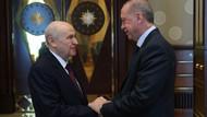 Erdoğan ve Bahçeli'den 40 dakikalık sürpriz görüşme