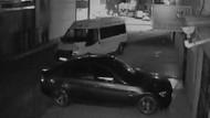 Cezaevinden izinli çıkıp, üyesi olduğu partinin minibüsünü çalıp, kaza yaptı