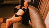 Rosie Huntington-Whiteley seksi pozlarıyla Instagram'ı salladı