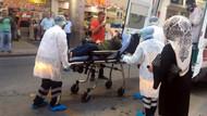 Kolinin açılmasıyla açığa çıkan gaz 10 kişiyi hastanelik etti!