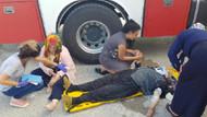 Kazada ambulanslar yetersiz kalınca, yaralılar yerde bekletildi