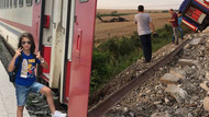 Tren kazası sonrası sosyal medyadan yardım çağrısı