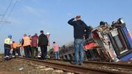 Kaza yapan trenin makinistleri o anları anlattı