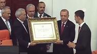 Cumhurbaşkanı Recep Tayyip Erdoğan'ın yemin töreninden kareler