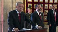 Recep Tayyip Erdoğan Anıtkabir'i ziyaret etti