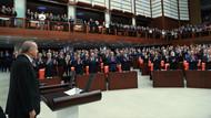 Muhalefet partilerinden Erdoğan'a tepki! Yemin töreninde ayağa kalkmadılar