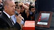 Erdoğan şehit bebeğin ve annesinin cenazesinde: İdam için atacağımız adımlar yakındır