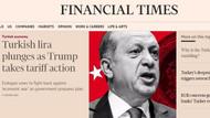 ABD Türkiye krizini dünya böyle gördü!