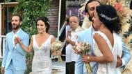 Çukur dizisinin Vartolu Sadettin'i Erkan Kolçak Köstendil ile Cansu Tosun evlendi