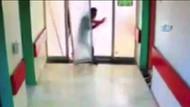 Ölen hastanın yakınları yoğun bakım ünitesinin kapısını kırdı, doktorlara saldırdı