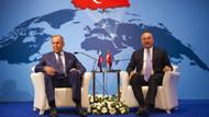 Mevlüt Çavuşoğlu ve Sergey Lavrov'dan ortak İdlib açıklaması