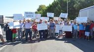 Halk CHP'li belediyeye yürüdü, başkanı istifaya çağırdı