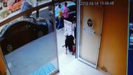 Baltayla döviz bürosu bastı! Baltalı silahlı kavga kamerada