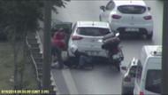 TEM'de otomobil çarpan köpek için seferber oldular!
