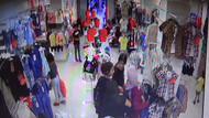 Kadın hırsızlar alışveriş yapmaya gelen genç kadını soydu