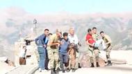 İmdatlarına TSK yetişti! Kazada yaralanan sivilleri hastaneye TSK taşıdı