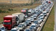 Bayram trafiği kontak kapattırdı! 35 kilometre trafik kuyruğu..