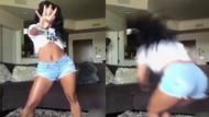 Dans ederken babasına yakalanınca...