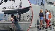 Gemiden denize düşen kadın 10 saat sonra kurtarıldı