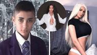 Kim Kardashian'a benzemek isteyen gencin son hali şaşırttı!