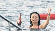 Fatma Turgut Bodrum'da tatilde: Keyfim yerinde