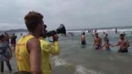 Şile Ayazma Plajı'nın boşaltılması için uyarılar yapılıyor