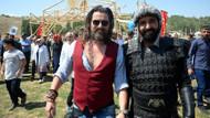 Diriliş Ertuğrul oyuncuları Malazgirt zaferini kutladı